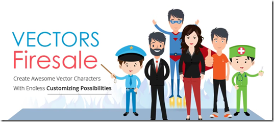 vectors firesale characters