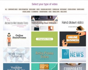 Easy Web Video Generator Templates