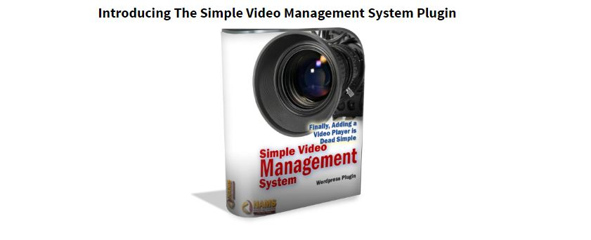 Simple Video Management System WordPress Plugin